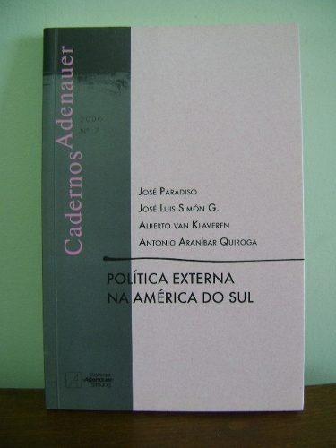 livro cadernos adenauer 7 política externa na américa do sul