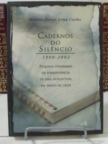 livro - cadernos do silêncio - 1990-2002