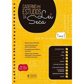 Livro Cadrerno De Estudos Lei Seca - Editora Juspodivm