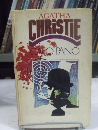 livro - cai o pano - agatha christie