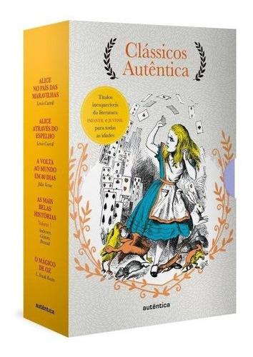 livro caixa clássicos autentica vol. l.carroll, julio v