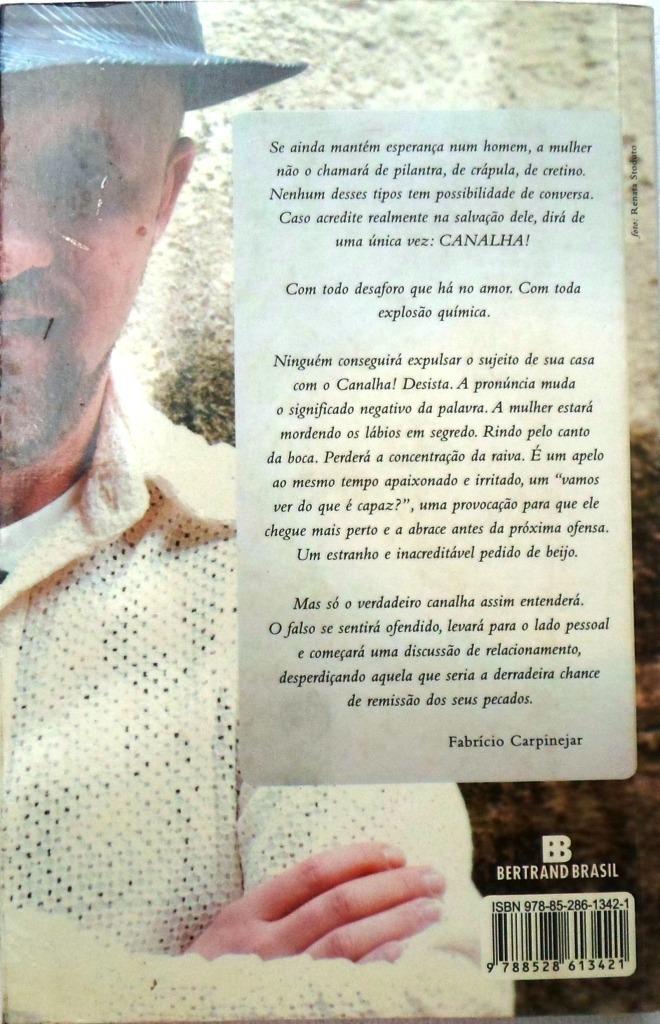 Livro - Canalha! - Retrato Poético E Divertido Do Homem - R$ 12,49 em  Mercado Livre