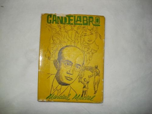livro - candelabro - marcial maciel - 1966