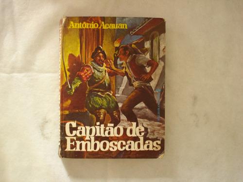 livro - capitão de emboscadas - antônio acauan
