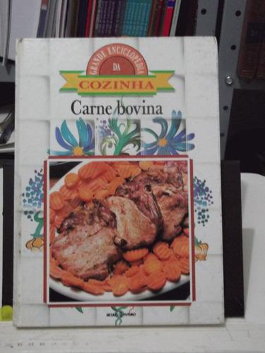 livro - carne bovina - grande enciclopédia da cozinha