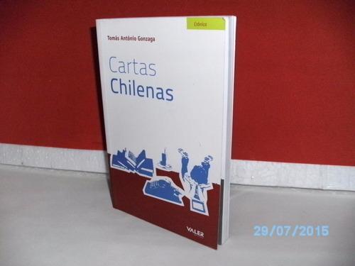 livro cartas chilenas tomás antônio gonzaga- 2010 - 151 págs