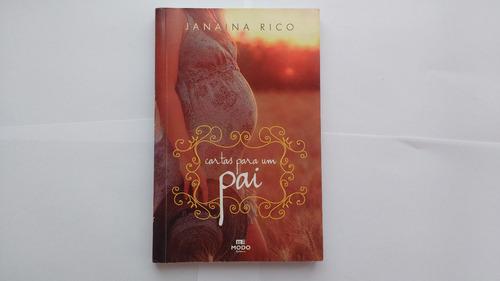 livro cartas para um pai  janaina rico