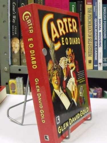 livro - carter e o diabo - glen david gold