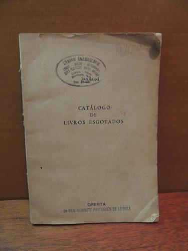 livro catálogo de livros esgotados manuel ferreira 1973