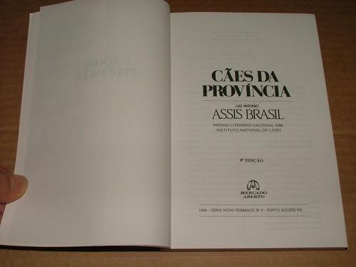livro cães da província luis antonio assis brasil