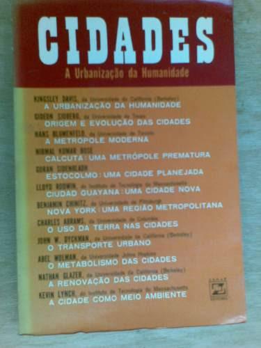 livro - cidades - a urbanização da humanidade