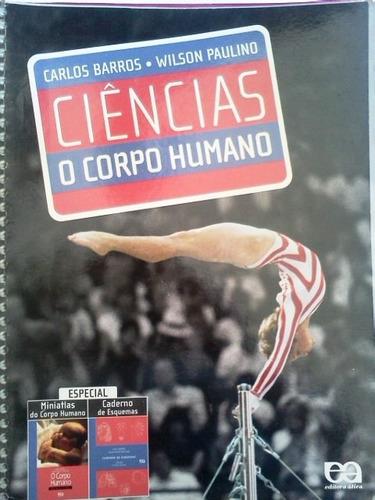 livro ciencias o corpo humano