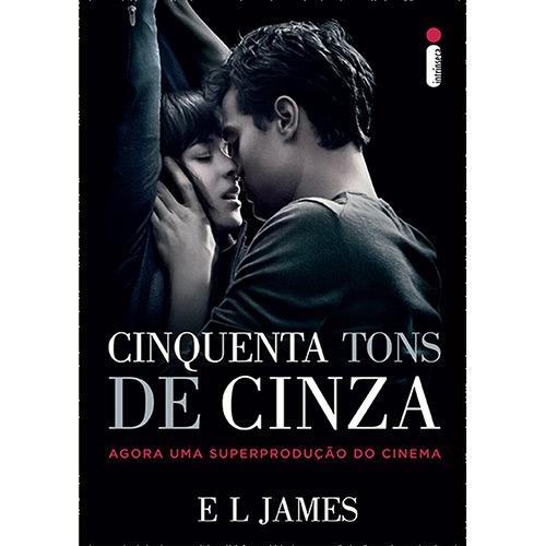 livro cinquenta tons de cinza- edição especial capa do filme