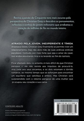 livro cinquenta tons mais escuros pelos olhos christian vol2