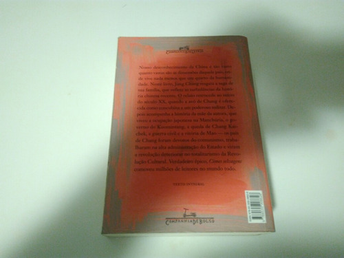 livro cisnes selvagens  - jung chang