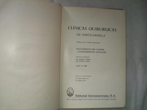 livro clinicas quirurgicas de norteamerica dr james hardy