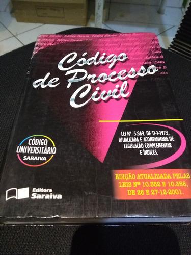 livro código de processo civil - código universitário