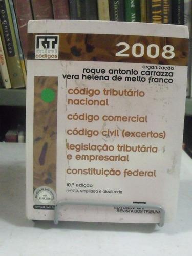 livro - código tributário nacional - roque antonio carrazza