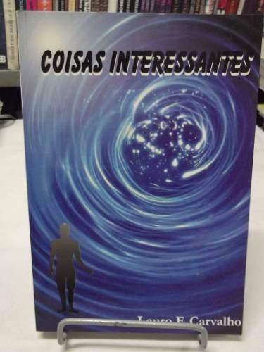 livro - coisas interessantes - lauro f. carvalho