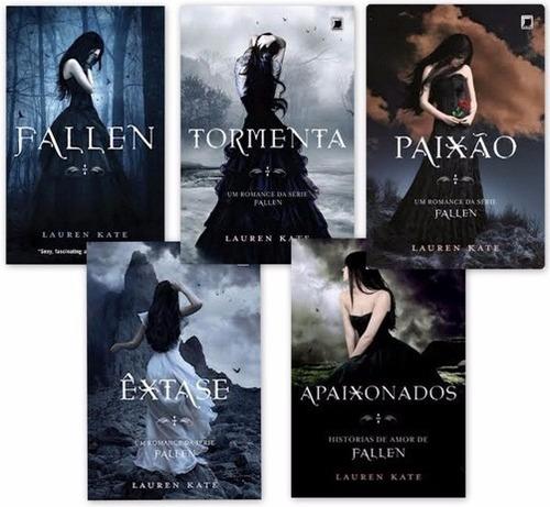 livro colecao fallen (5 livros)