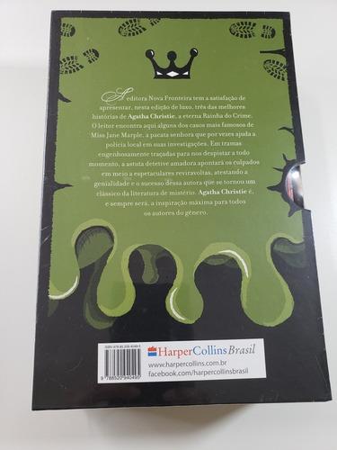 livro - coleção agatha christie - box 4 - novo - lacrado