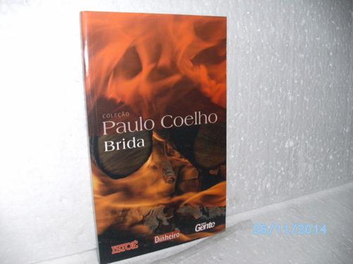 livro coleção paulo coelho - brida  -obs: exemplar semi-novo