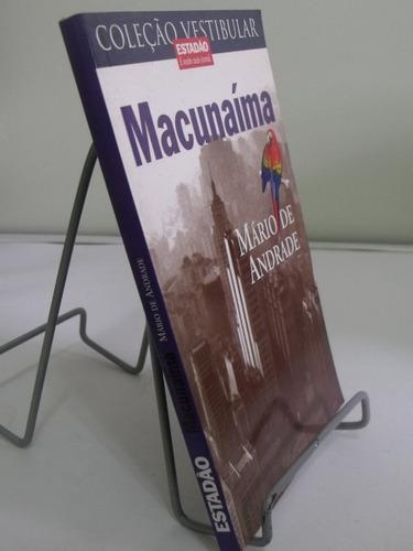 livro coleção vestibular macunaíma mario de andrade
