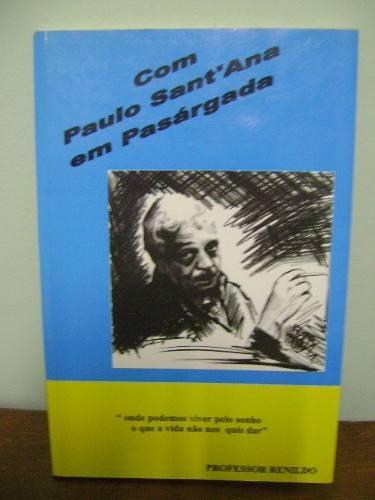 livro com paulo santana em pasárgada professor renildo