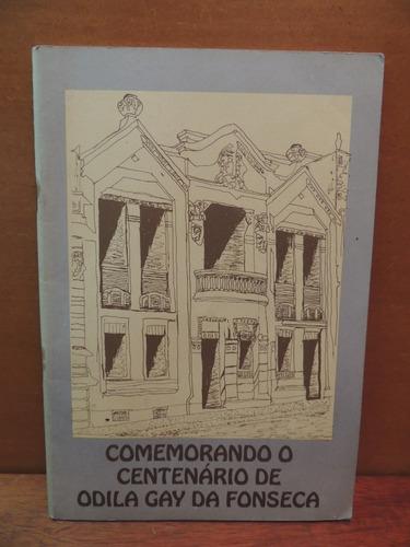livro comemorando o centenário de odila gay da fonseca