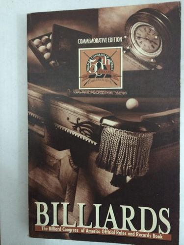 livro comemorativo: 50 anos americano de bilhar - em inglês