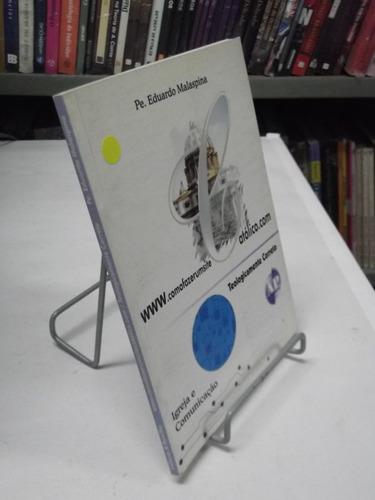 livro como fazer um site católico pe. eduardo malaspina