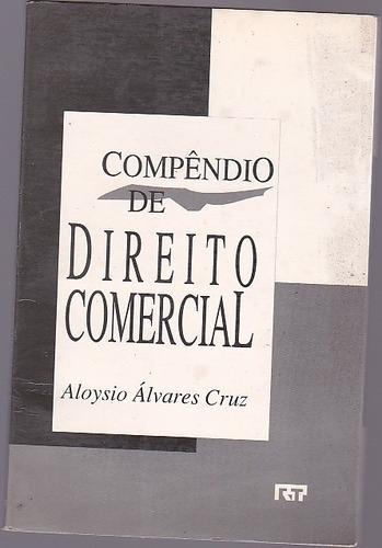 livro compendio de direito comercial - aloysio alvares cruz