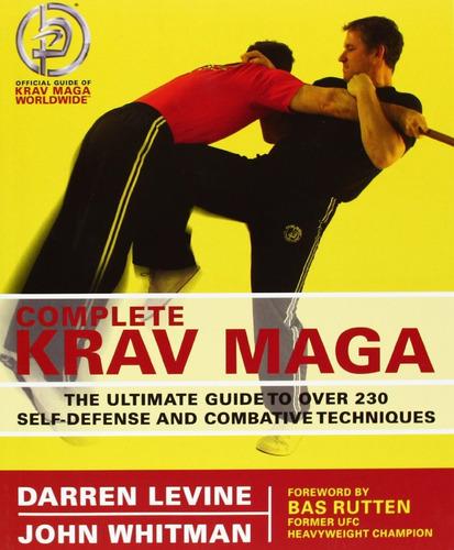 livro complete krav maga: the ultimate guide - darren levine