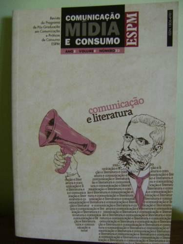 livro comunicação mídia e consumo espm revista pós-graduação