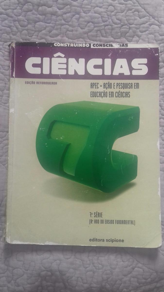ea724b10c livro construindo ciências ed scipione 8º ano. Carregando zoom.