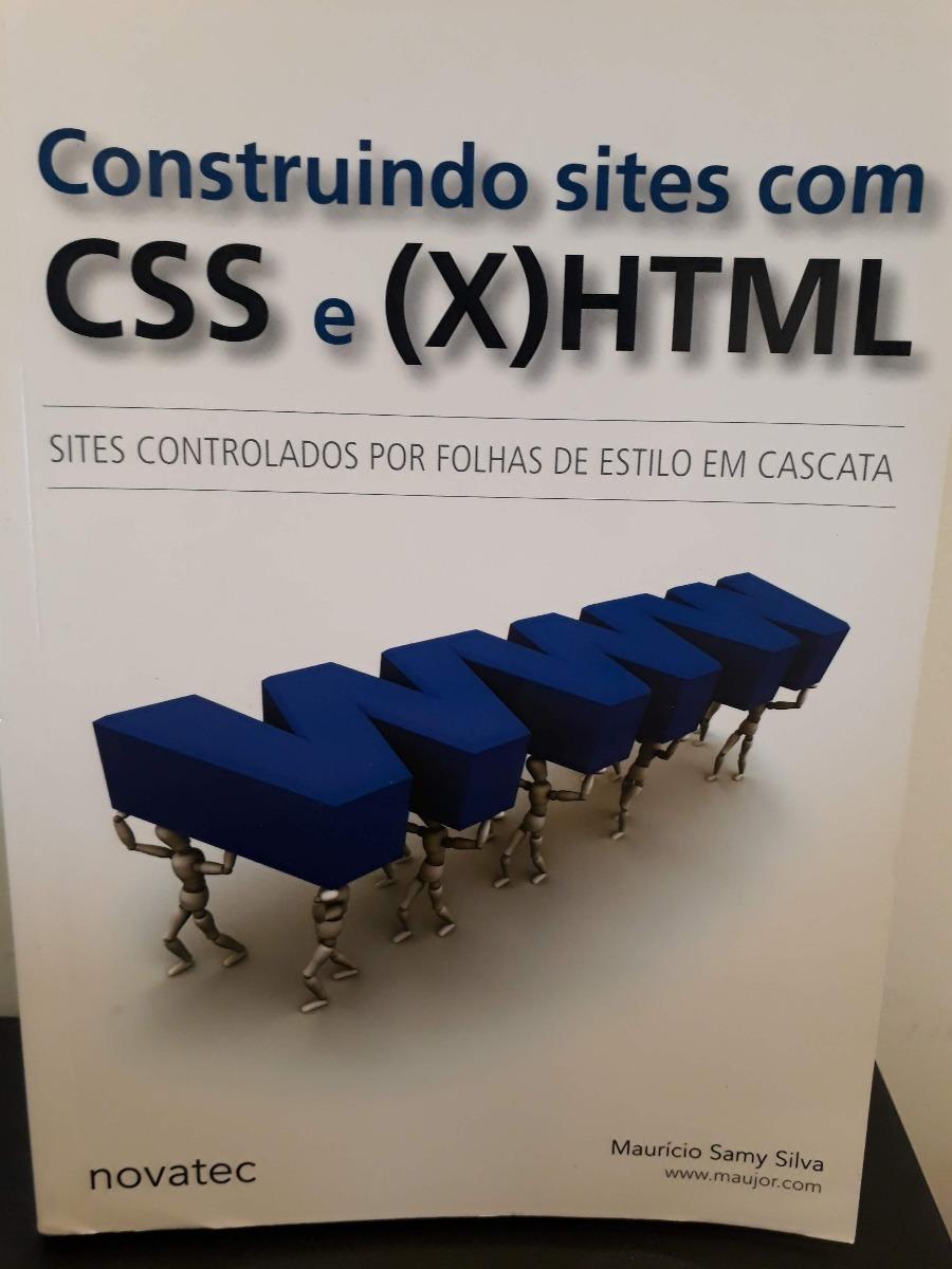 SITES COM XHTML LIVRO BAIXAR CONSTRUINDO CSS E