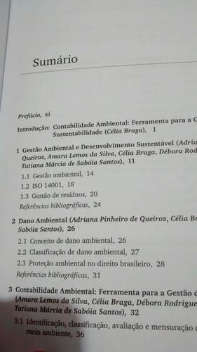 livro contabilidade ambiental