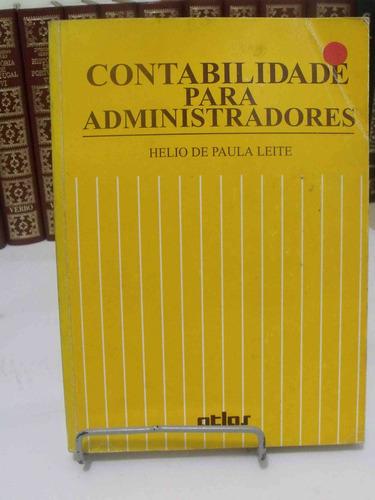 livro - contabilidade para administradores - helio de paula