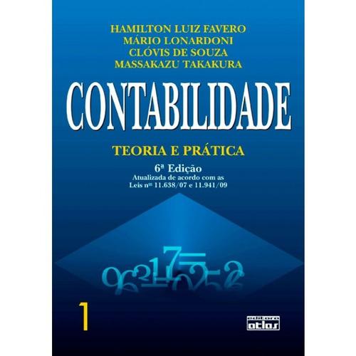 livro - contabilidade: teoria e prática - vol 1 - favero