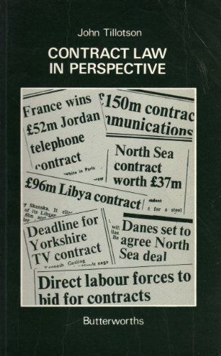 Livro contract law in perspective john tillotson r 7500 em livro contract law in perspective john tillotson r 7500 em mercado livre fandeluxe Choice Image