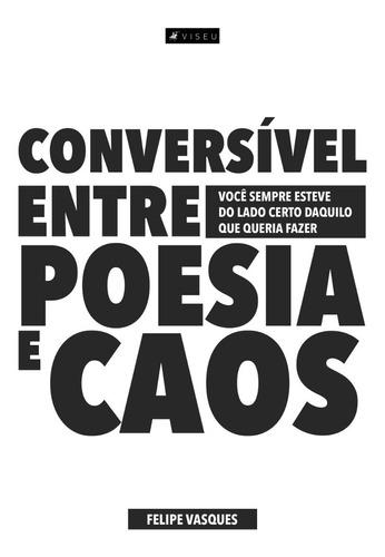 livro - conversível entre poesia e caos