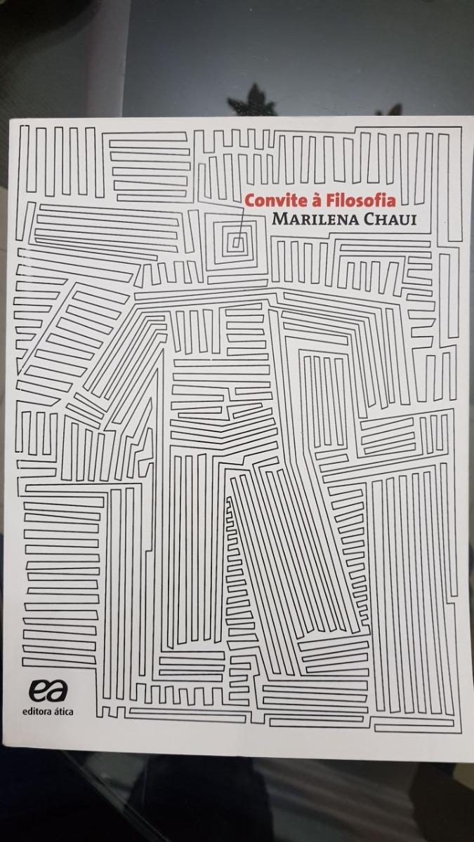 Livro Convite à Filosofia Marilena R 16999 Em Mercado Livre