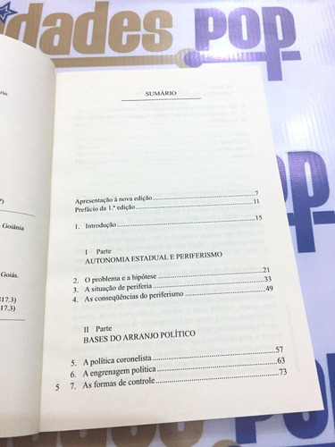 livro coronelismo em goiás, itami campos, história política