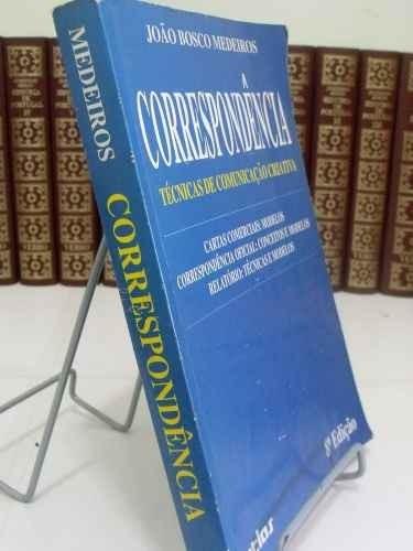 livro - correspondência - técnicas de comunicação criativa
