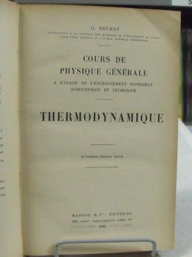 livro - cours de physique générale - thermodynamique