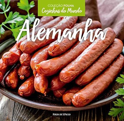 livro cozinhas do mundo - alemanha - coleção folha lacrado