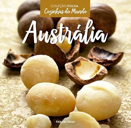 livro cozinhas do mundo - australia - coleção folha lacrado