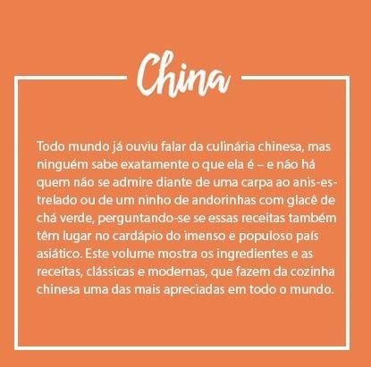 livro cozinhas do mundo - china - coleção folha lacrado