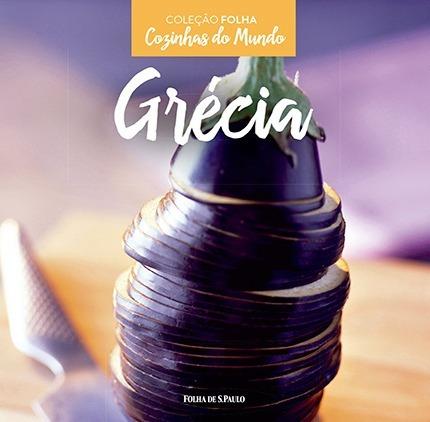 livro cozinhas do mundo - grécia - coleção folha lacrado