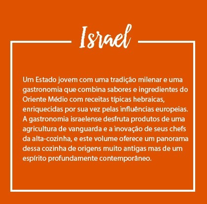 livro cozinhas do mundo - israel - coleção folha lacrado